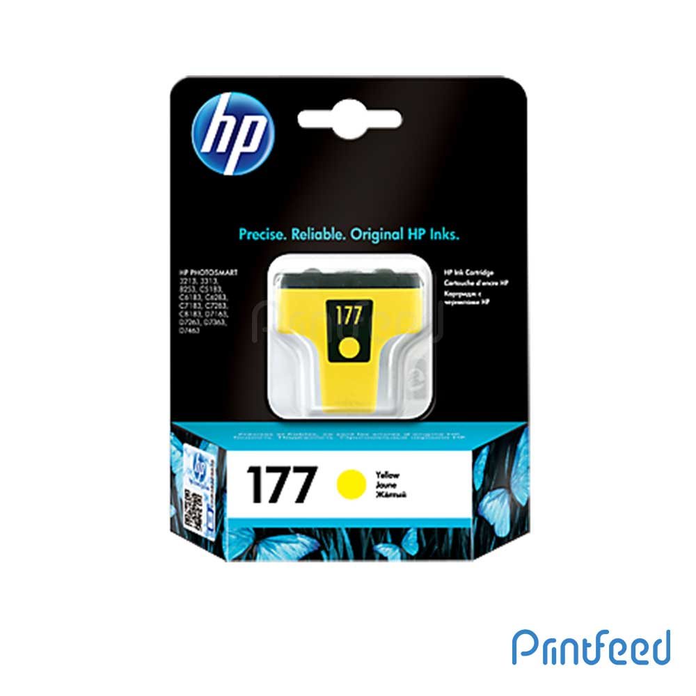 HP 177 Yellow Inkjet Print Cartridge