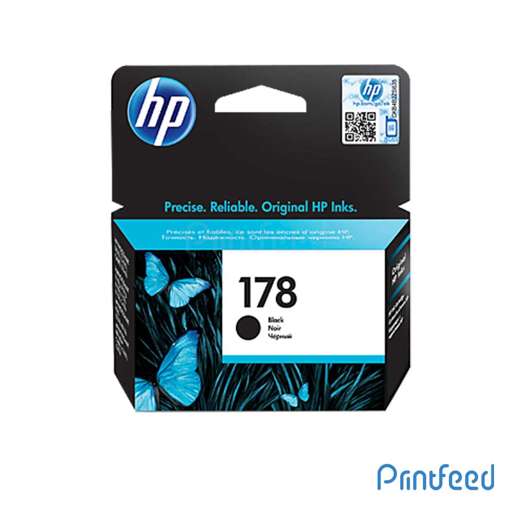 HP 178 Black Inkjet Print Cartridge