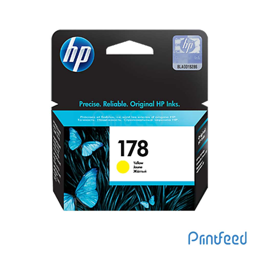 HP 178 Yellow Inkjet Print Cartridge