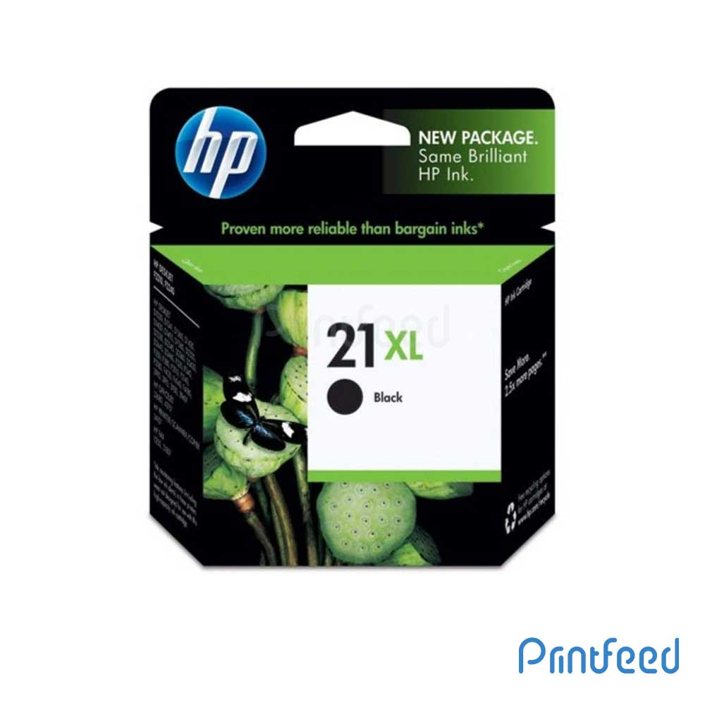 HP 21XL Black Inkjet Print Cartridges