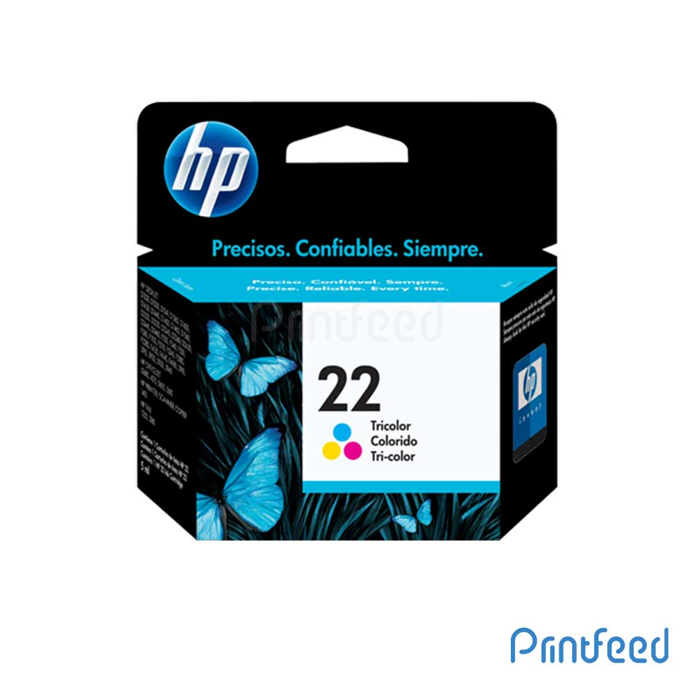 HP 22 Tri-color Inkjet Print Cartridges
