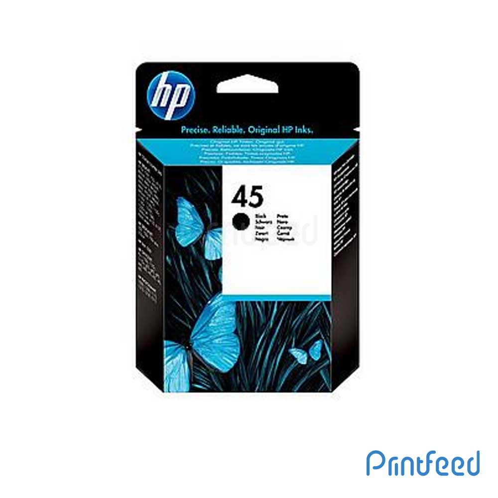 HP 45 Black Large Inkjet Print Cartridge