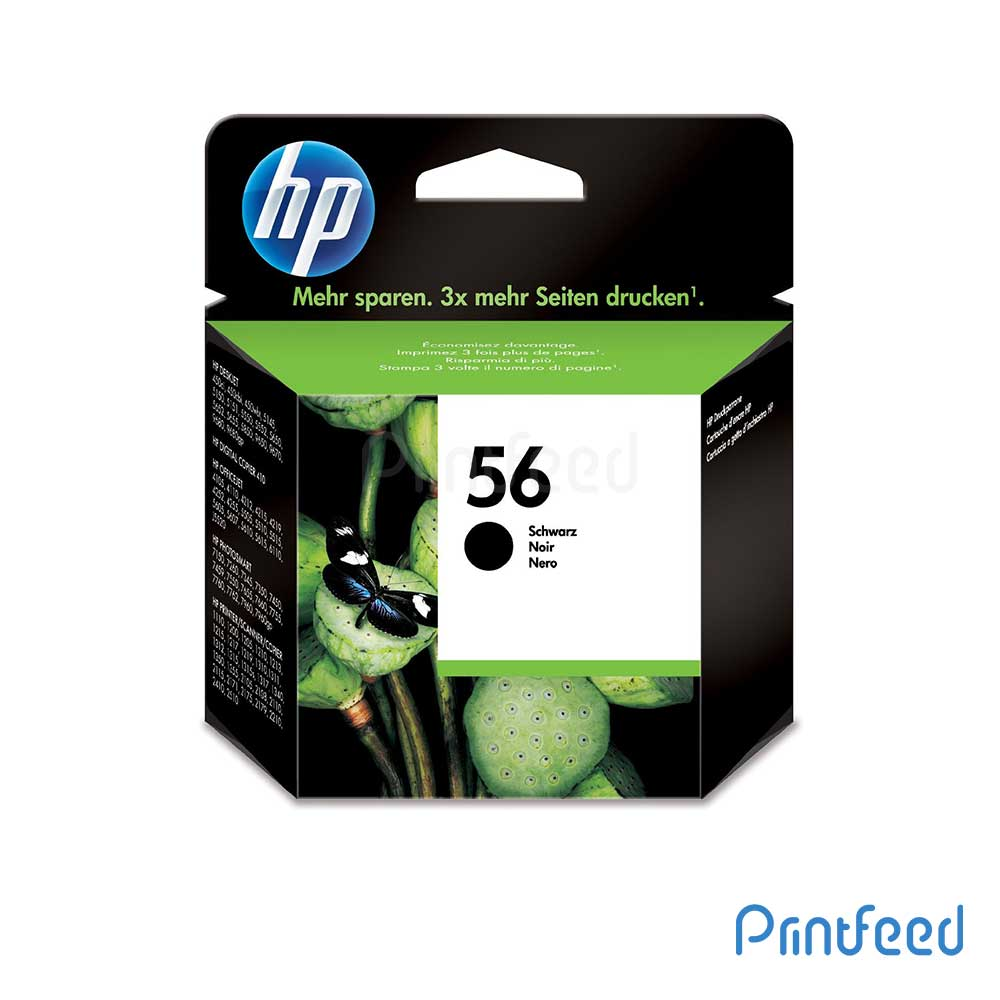 HP 56 Small Black Inkjet Print Cartridges