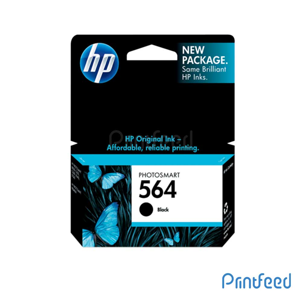 HP 564 Black Inkjet Print Cartridge