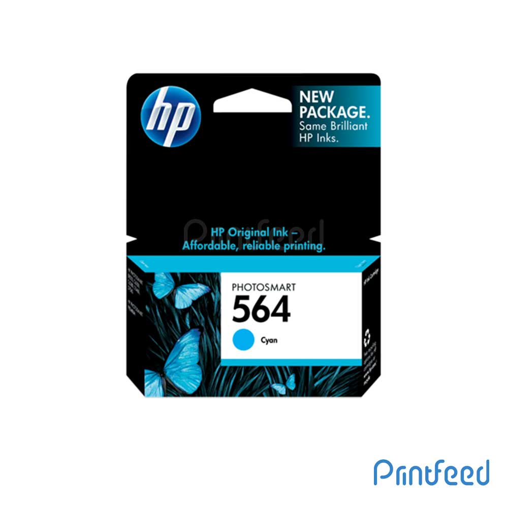 HP 564 Cyan Inkjet Print Cartridge