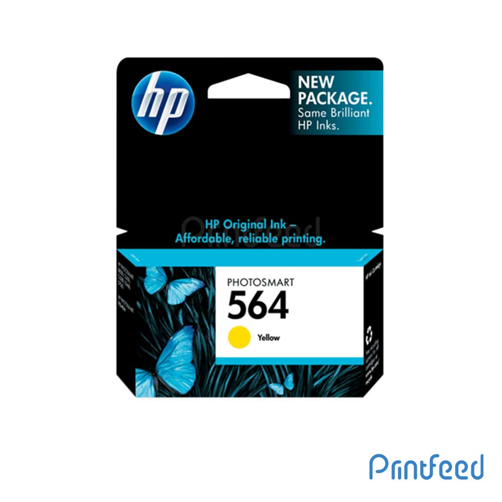 HP 564 Yellow Inkjet Print Cartridge