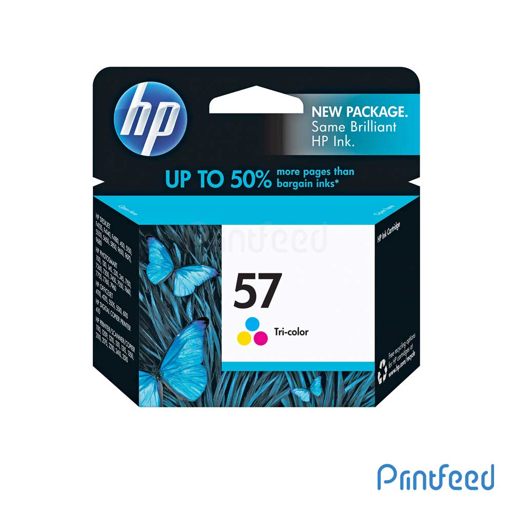 HP 57 Tri-color Inkjet Print Cartridges