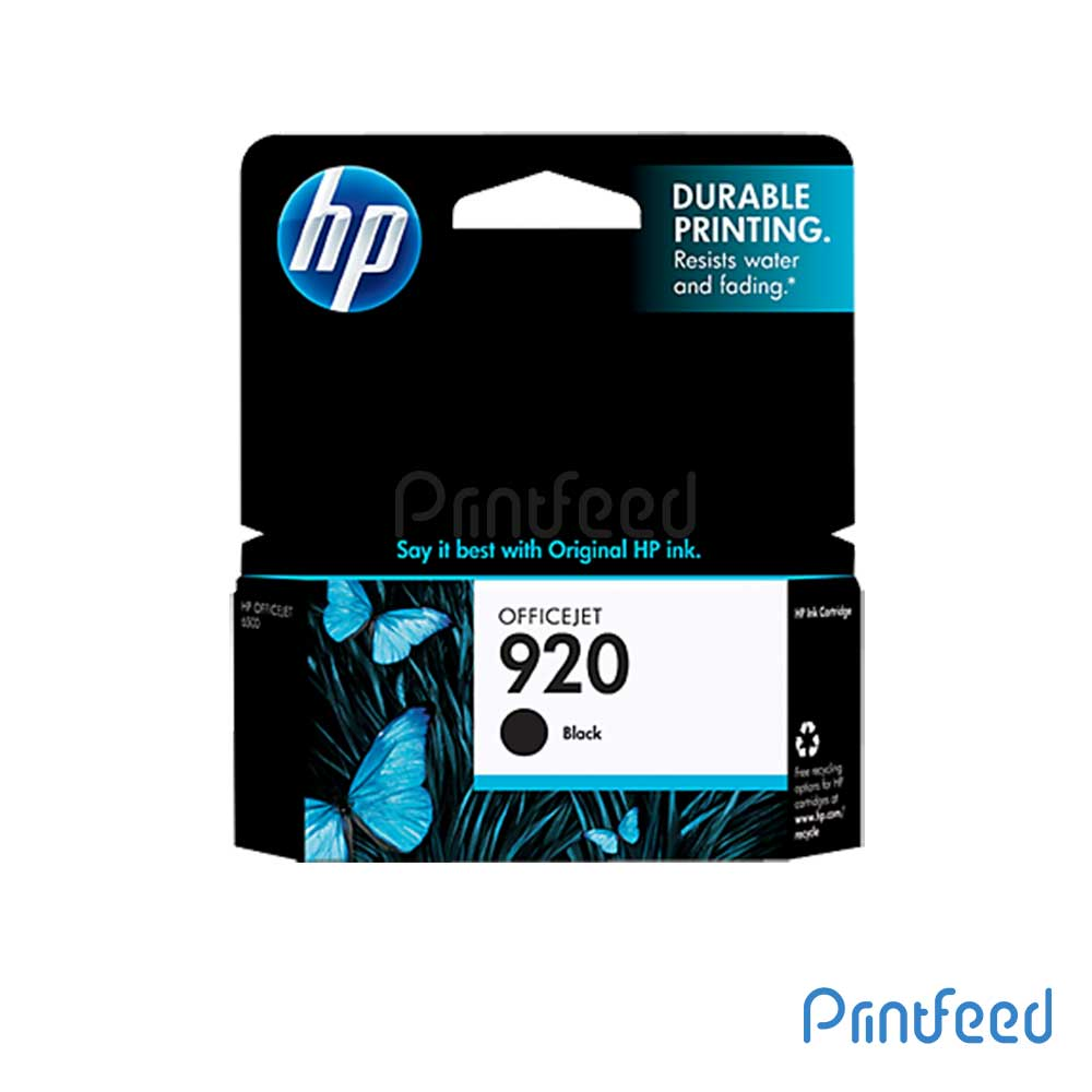 HP Officejet 920 Black Inkjet Print Cartridge