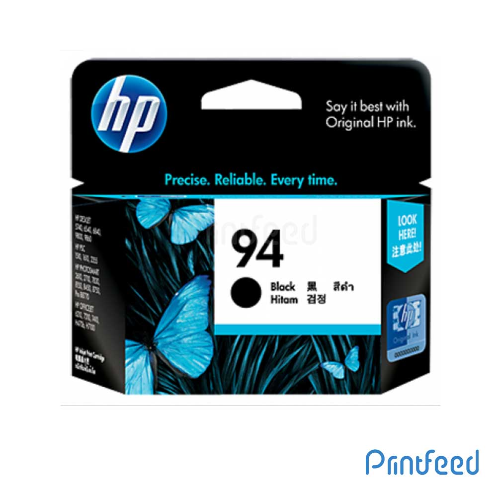 HP 94 Black Inkjet Print Cartridge