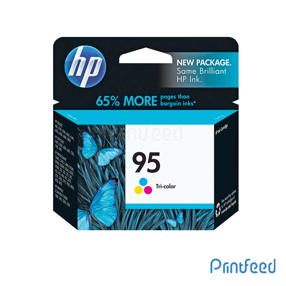 HP 95 Tri-Color Inkjet Print Cartridge