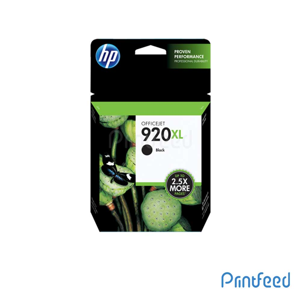 HP 920XL Black Inkjet Print Cartridge