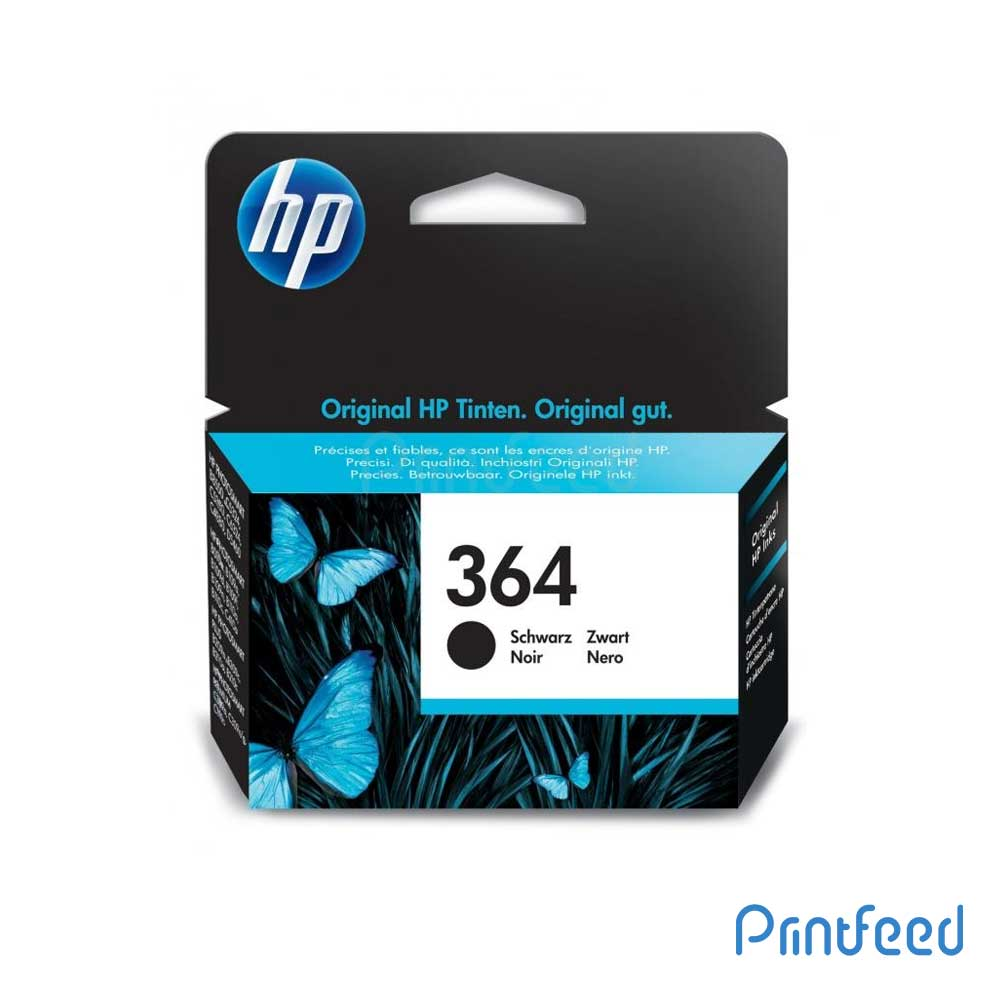 HP 364 Black Inkjet Print Cartridge
