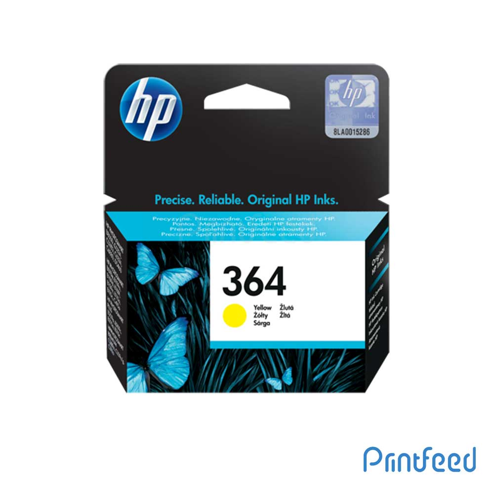 HP 364 Yellow Inkjet Print Cartridge
