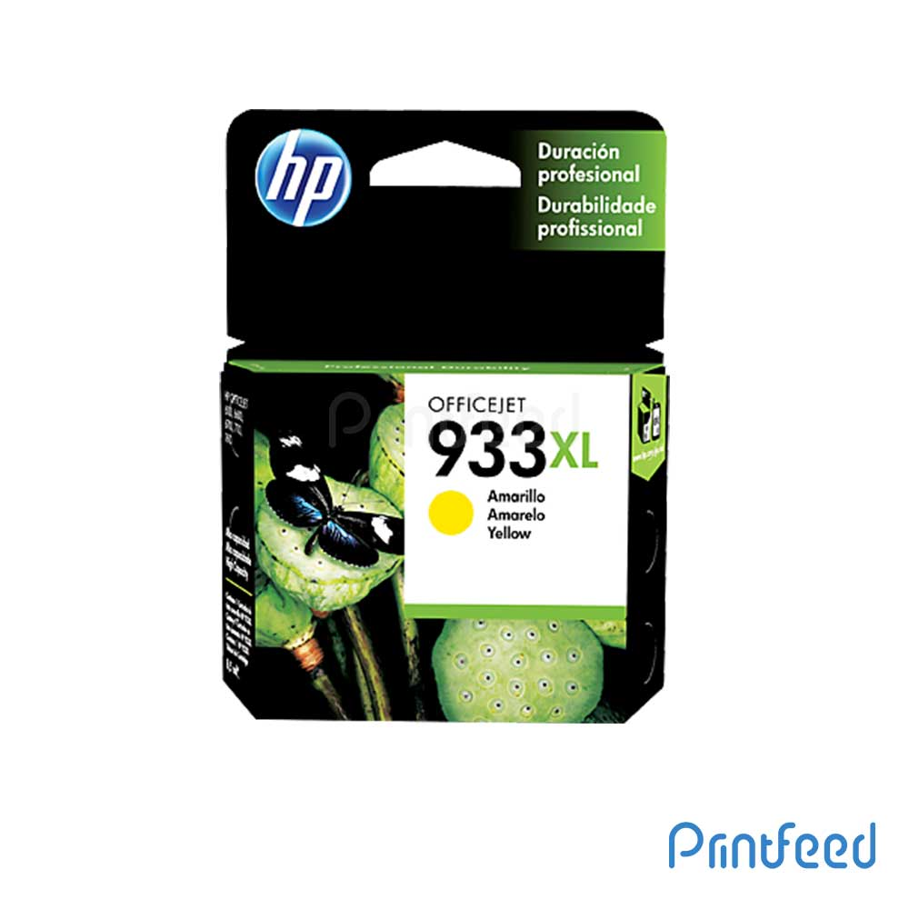 HP Officejet 933XL Yellow Inkjet Cartridge