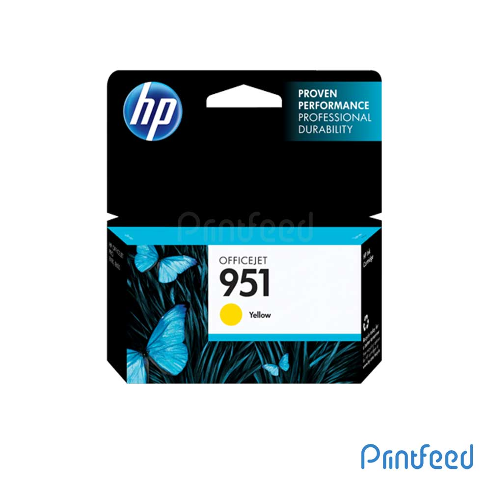 HP 951 Yellow Inkjet Cartridge