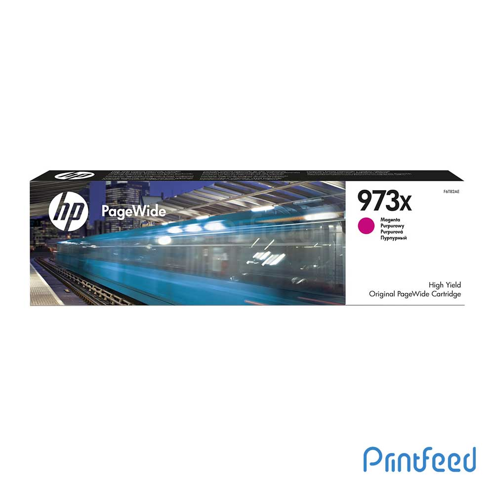 HP 973X Magenta PageWide Cartridge