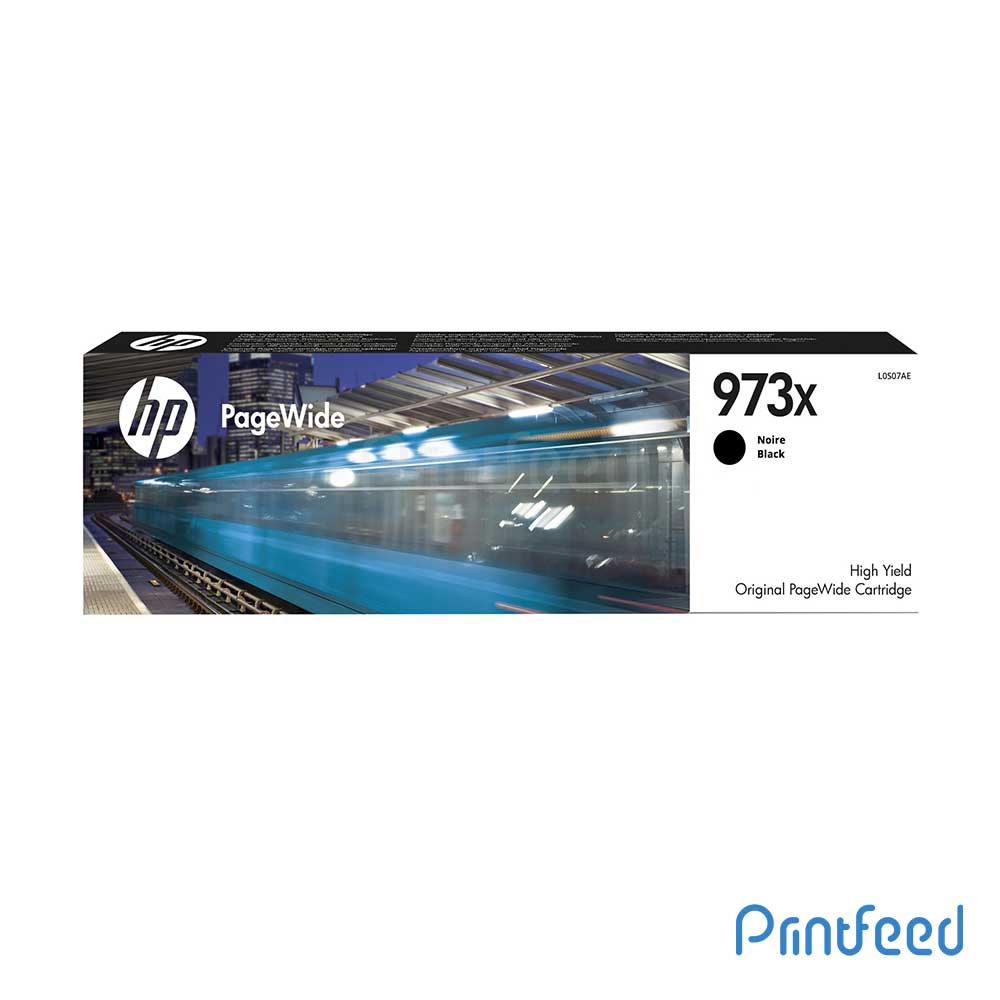 HP 973X Black PageWide Cartridge