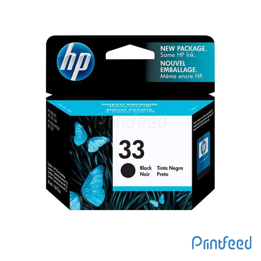 HP 33 Black Inkjet Print Cartridge