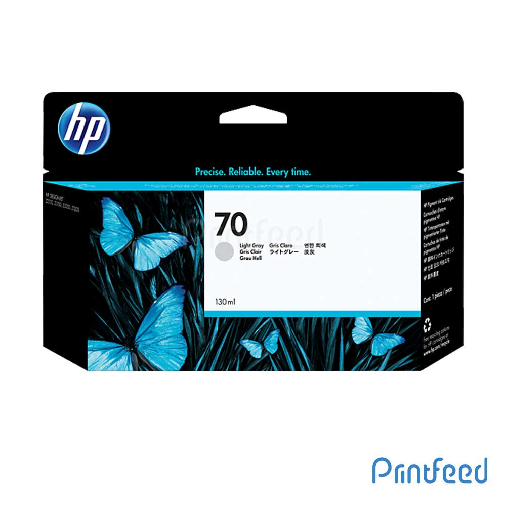 HP 70 130 ml Light Grey Inkjet Print Cartridge