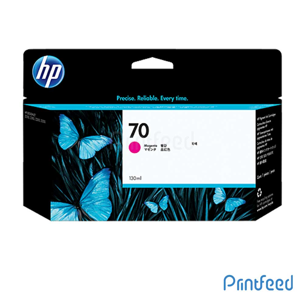 HP 70 130 ml Magenta Inkjet Print Cartridge