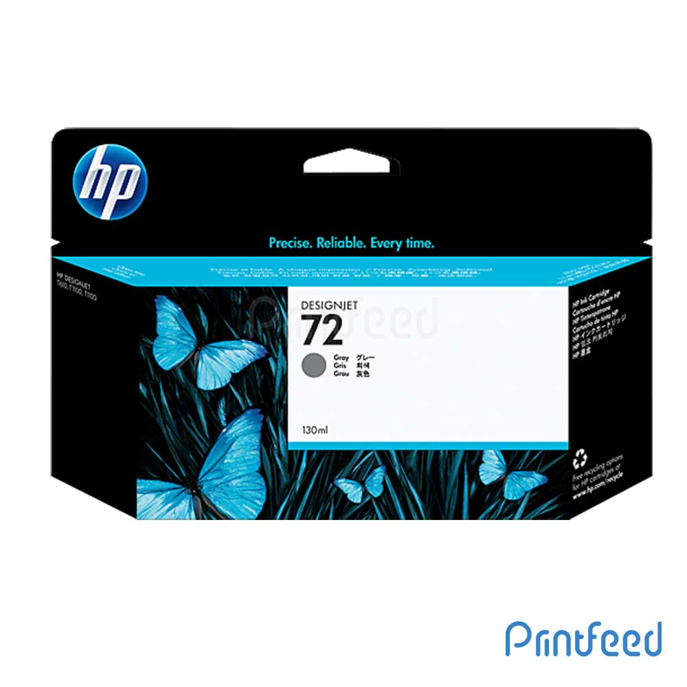 HP 72 130 ml Grey Inkjet Print Cartridge