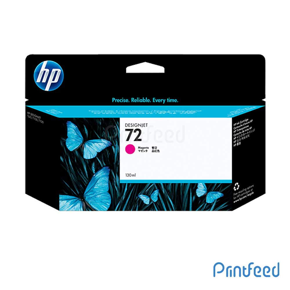 HP 72 130 ml Magenta Inkjet Print Cartridge