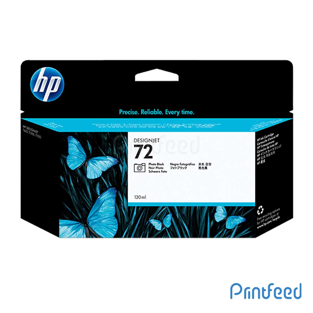 HP 72 130 ml Photo Black Inkjet Print Cartridge