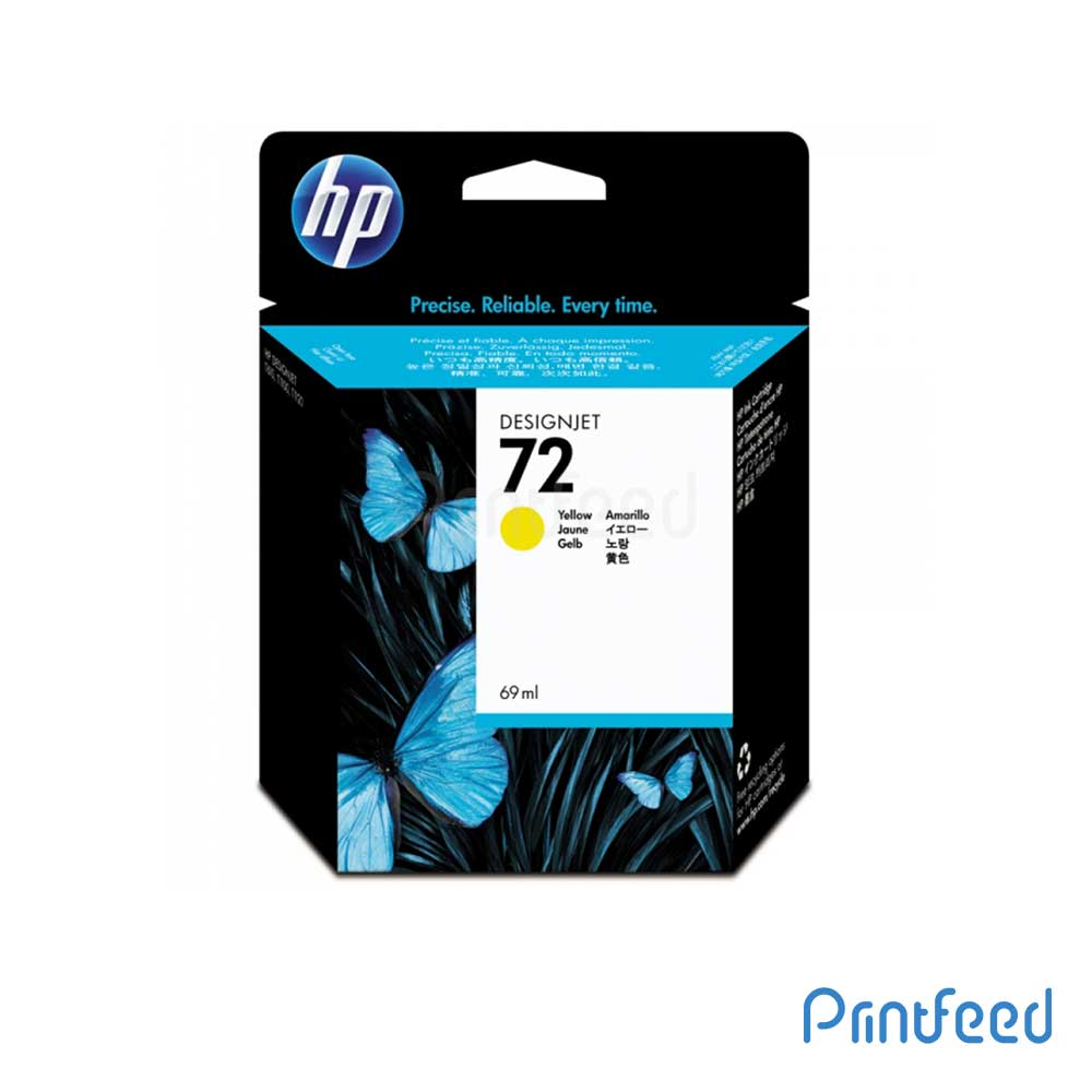 HP 72 40 ml Yellow Inkjet Print Cartridge