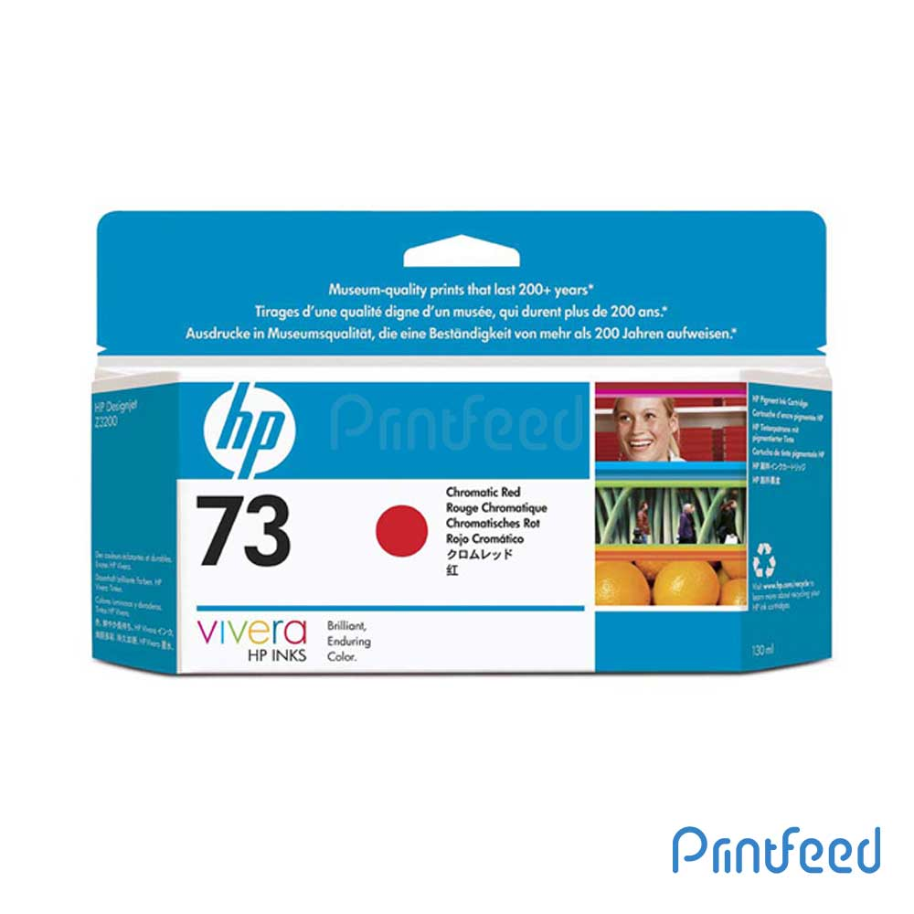 HP 73 130 ml Chromatic Red Inkjet Print Cartridge