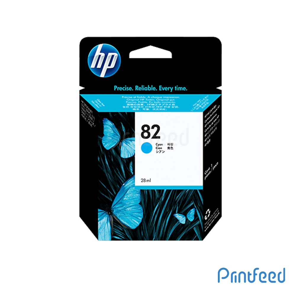 HP 82 69 ml Cyan Inkjet Print Cartridge