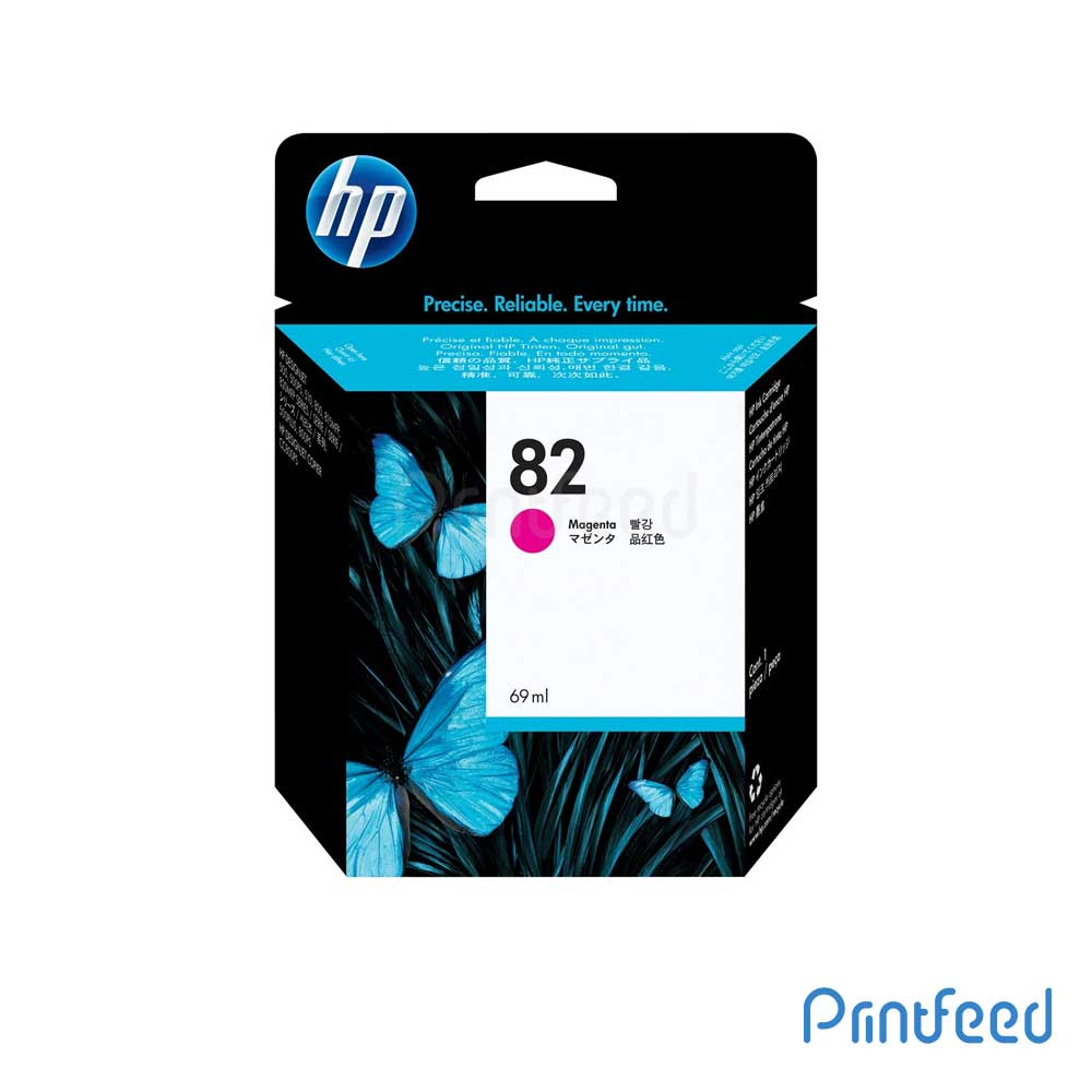 HP 82 69 ml Magenta Inkjet Print Cartridge