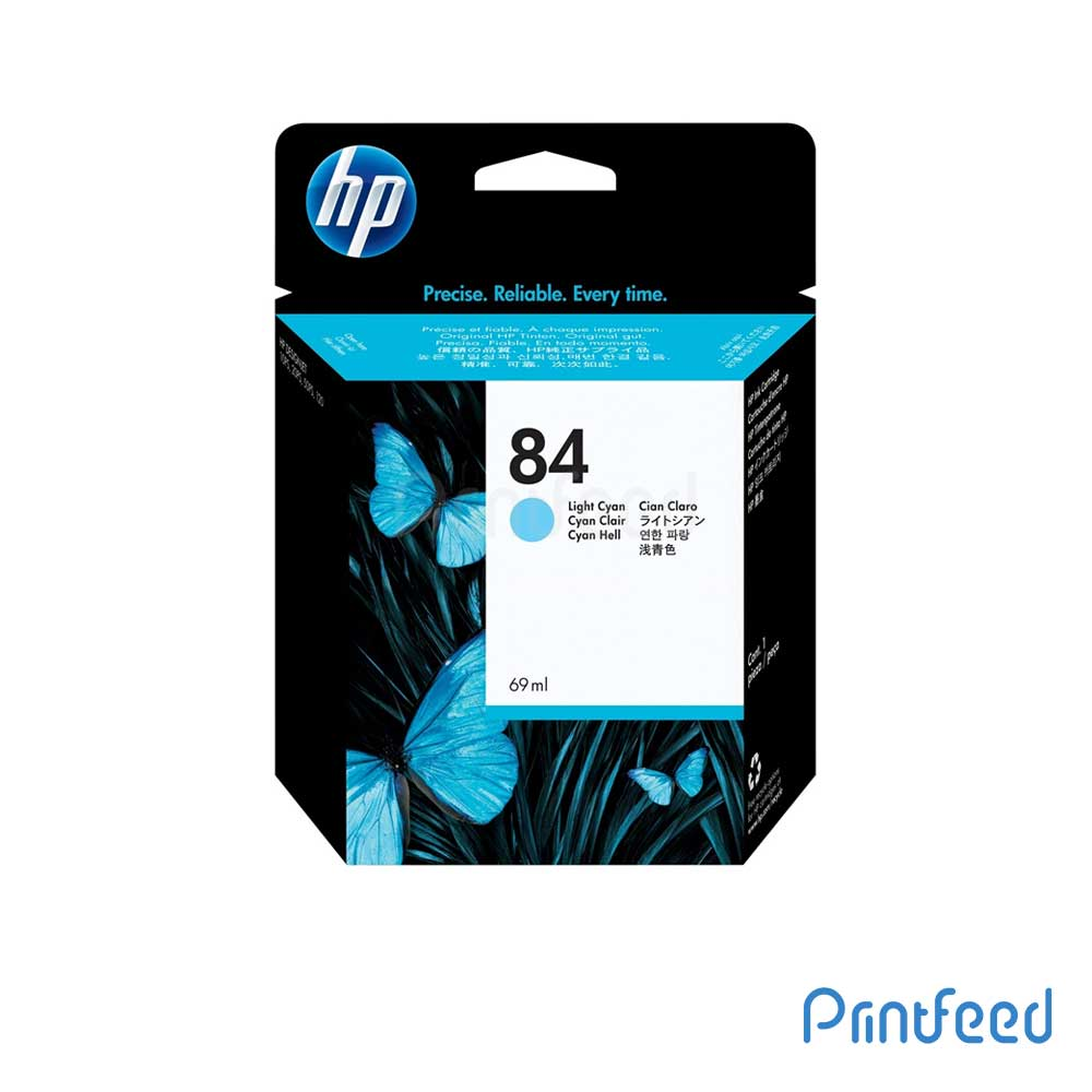 HP 84 69 ml Light Cyan Inkjet Print Cartridge