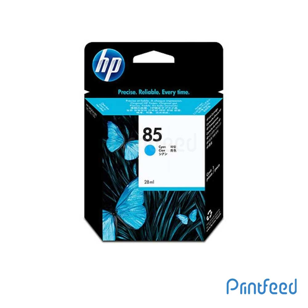 HP 85 28 ml Cyan Inkjet Print Cartridge