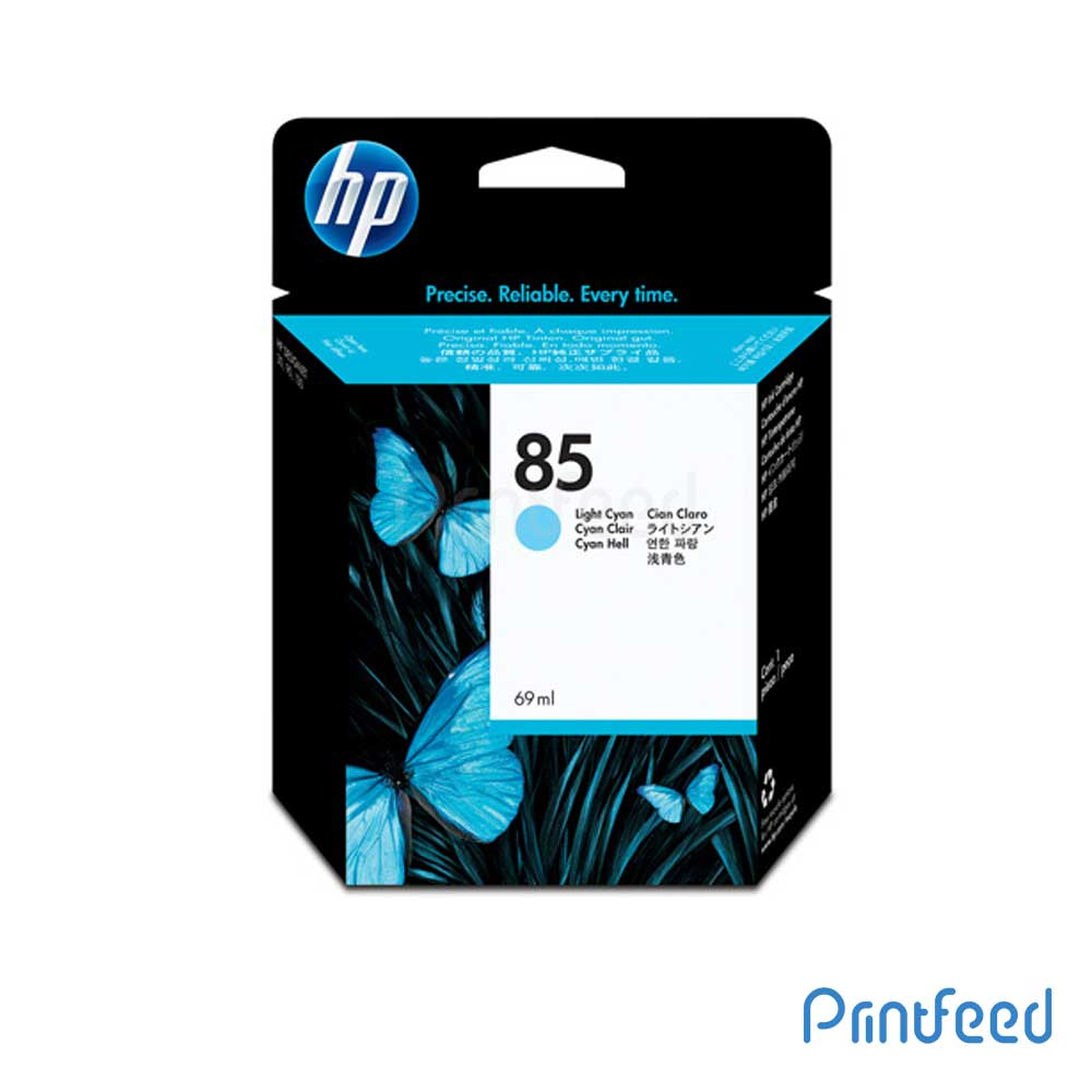 HP 85 69 ml Light Cyan Inkjet Print Cartridge