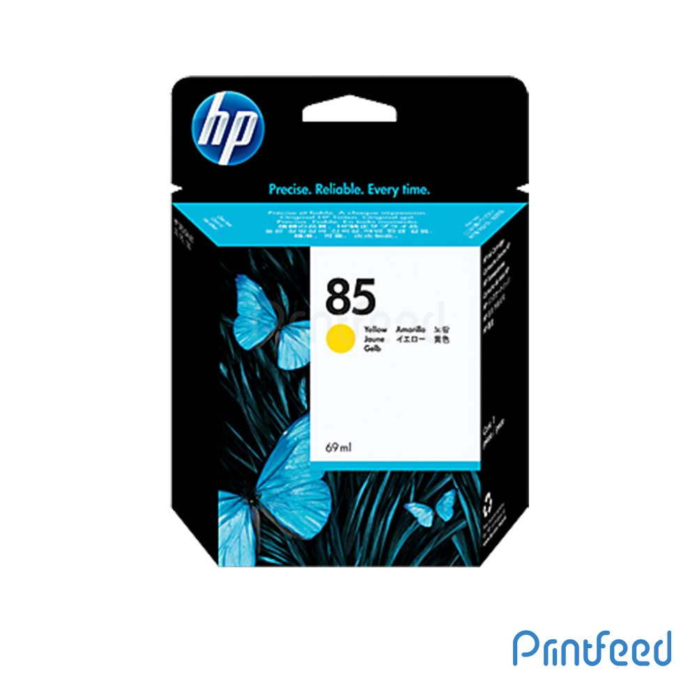 HP 85 69 ml Yellow Inkjet Print Cartridge