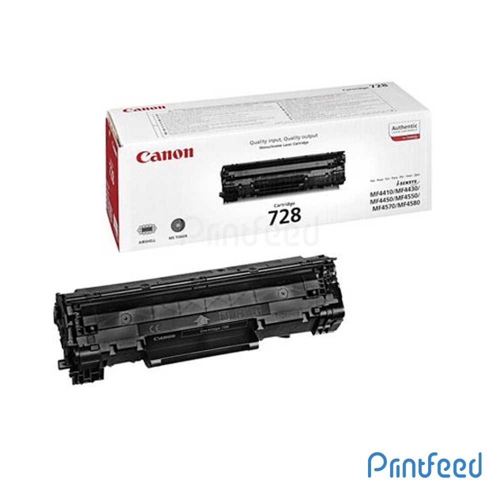 Canon CRG 728 Black Toner Cartridge