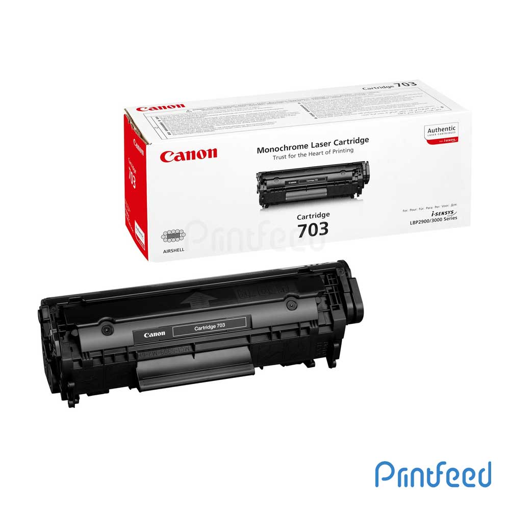Canon 703 Black Toner Cartridge