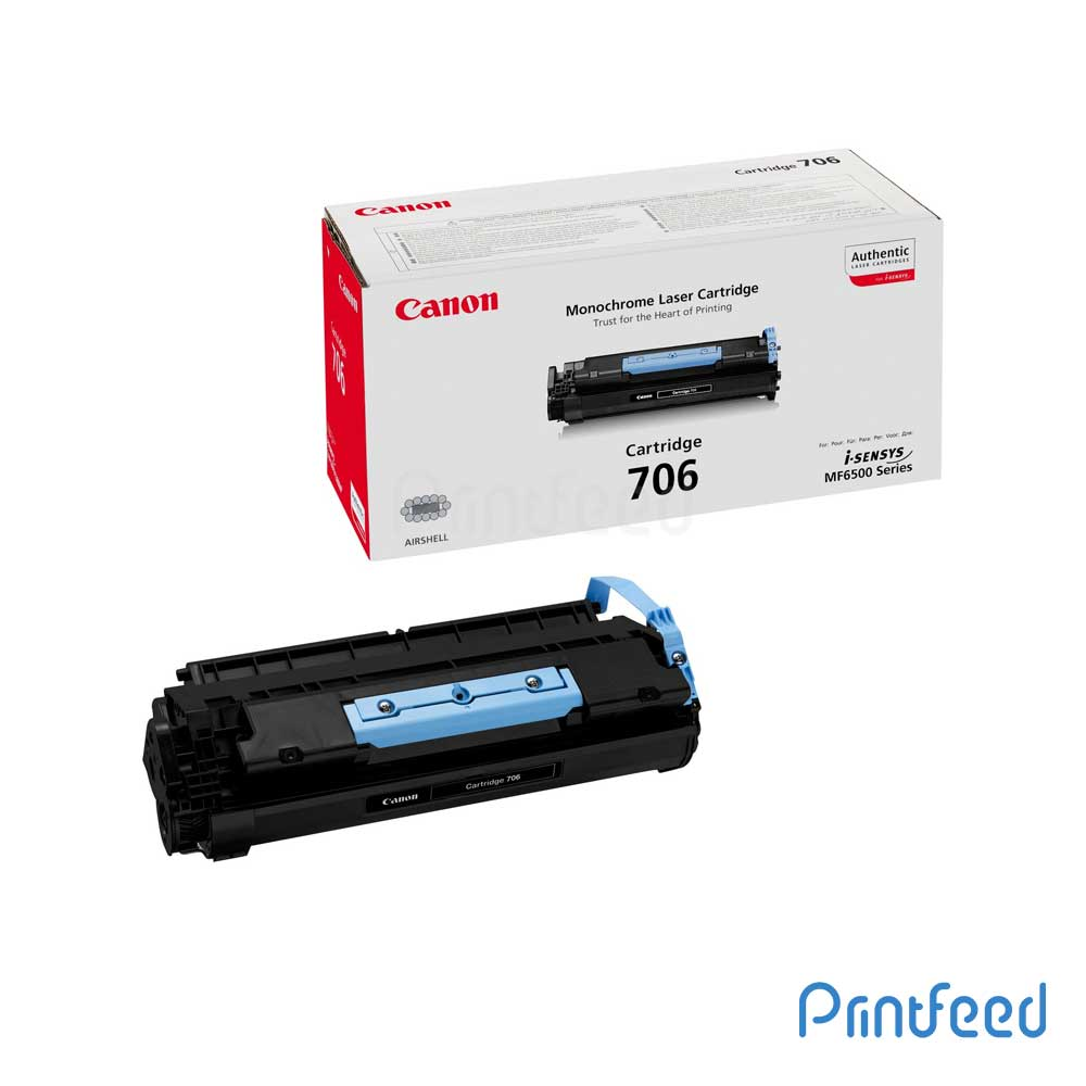 Canon 706 Black Toner Cartridge