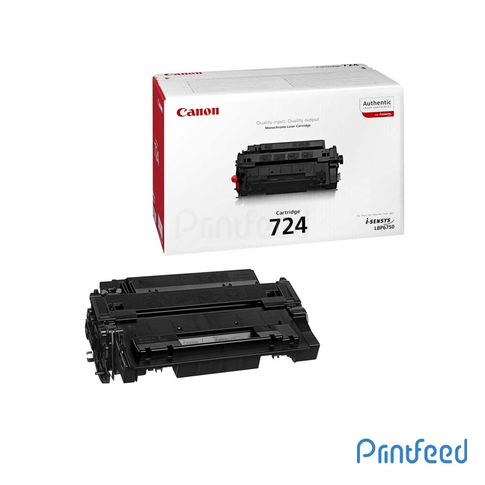 Canon 724 Black Toner Cartridge