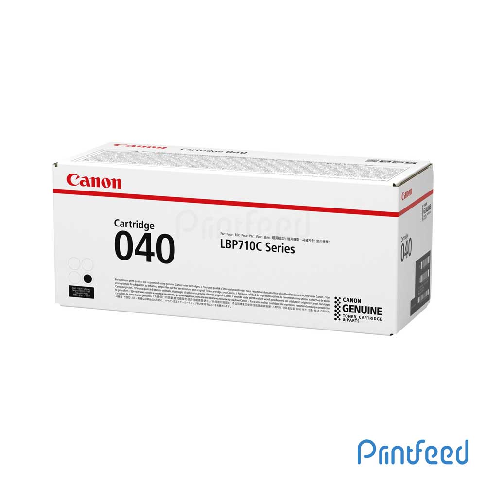 Canon 040BK Black Toner Cartridge