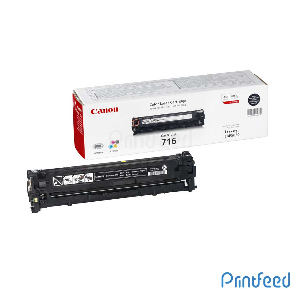 Canon 716BK Black Toner Cartridge