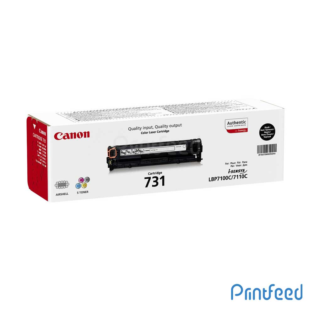 Canon 731BK Black Toner Cartridge