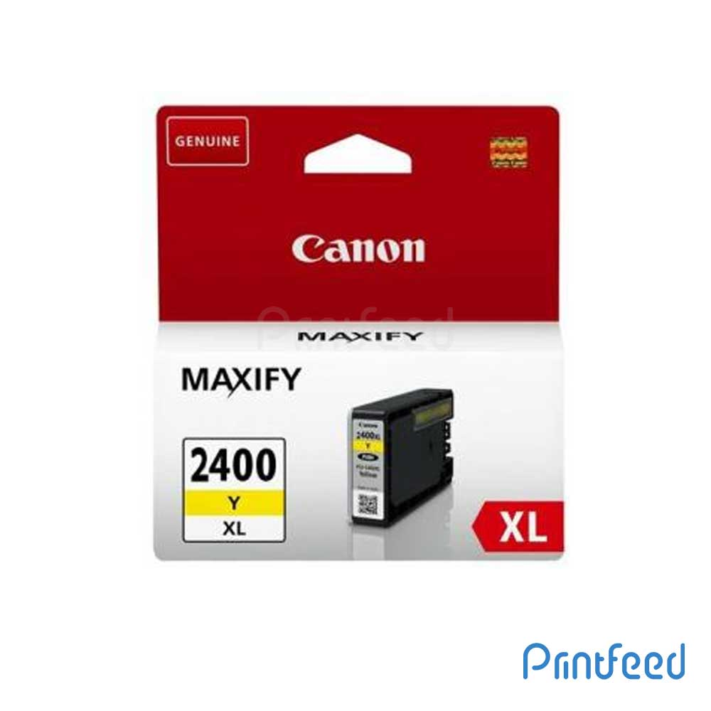 Canon PGI-2400XL Pigment Yellow ink Cartridge