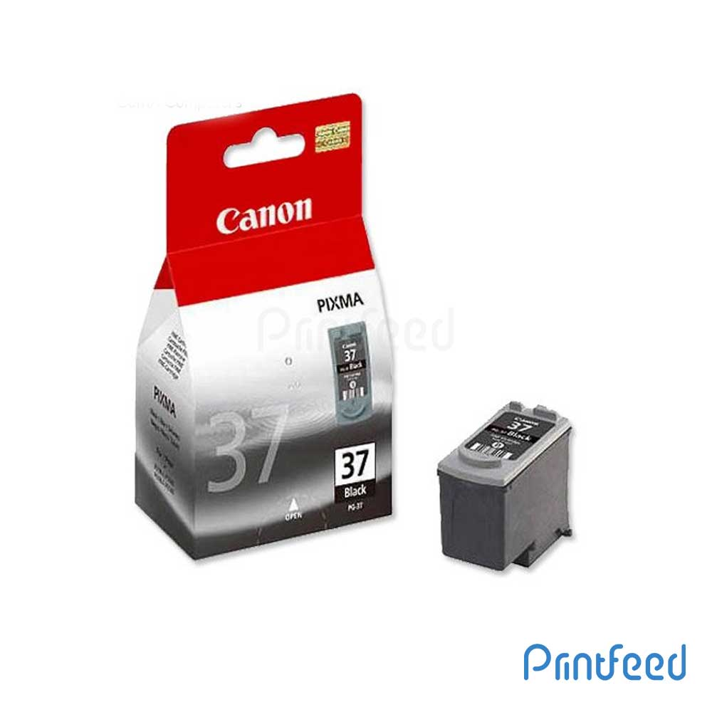 Canon PG-37 Pigment Black ink Cartridge