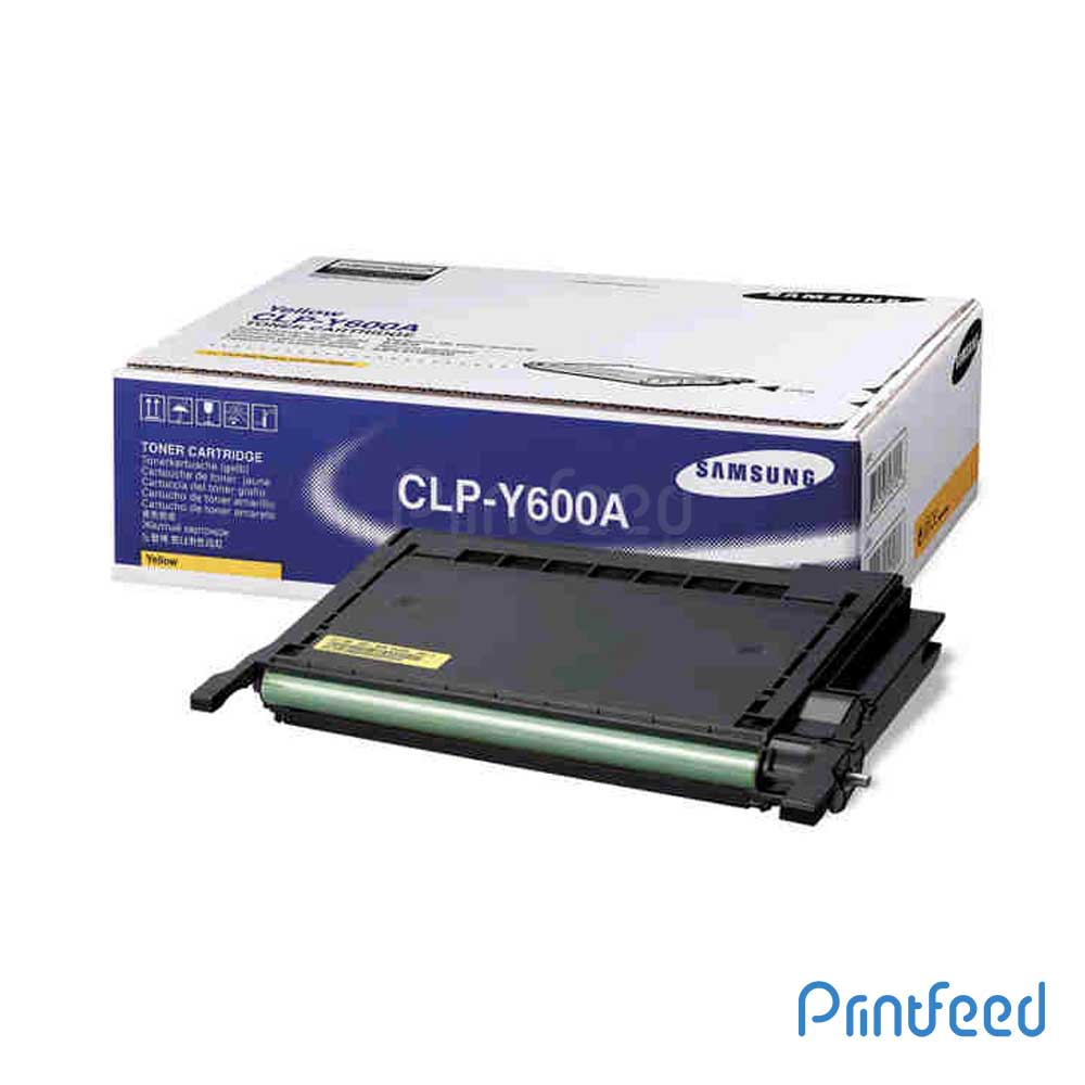 Samsung CLP-Y600A Toner Cartridge