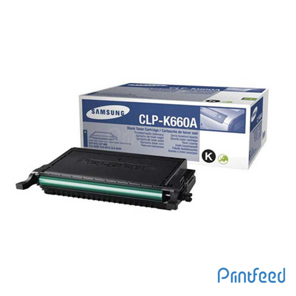 Samsung CLP-K660A Toner Cartridge
