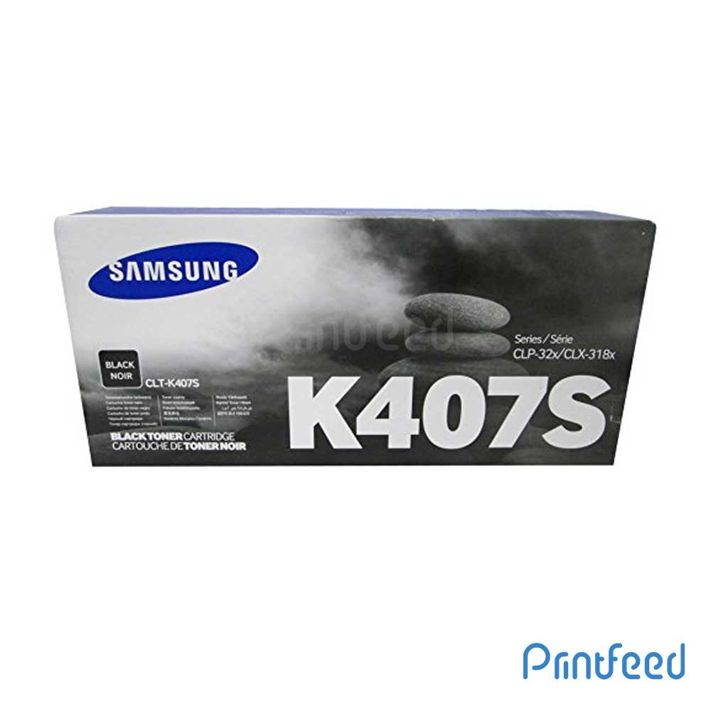 Samsung CLT-K407S Toner Cartridge