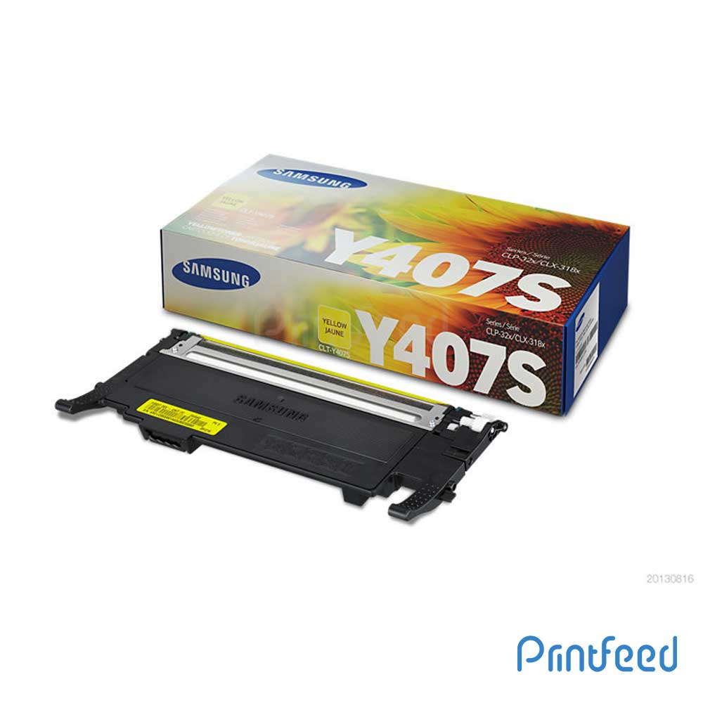 Samsung CLT-Y407S Toner Cartridge