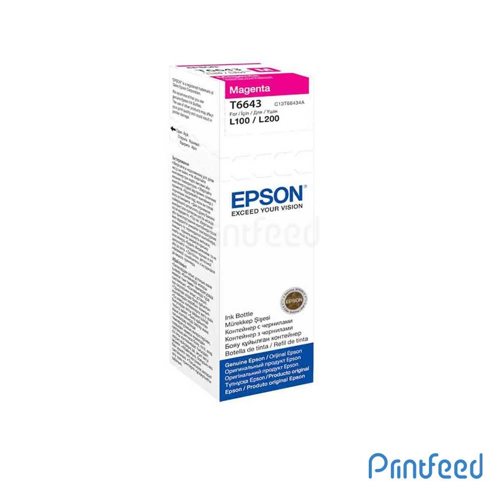 Epson T6643 Magenta Ink BOTTLE 70ML
