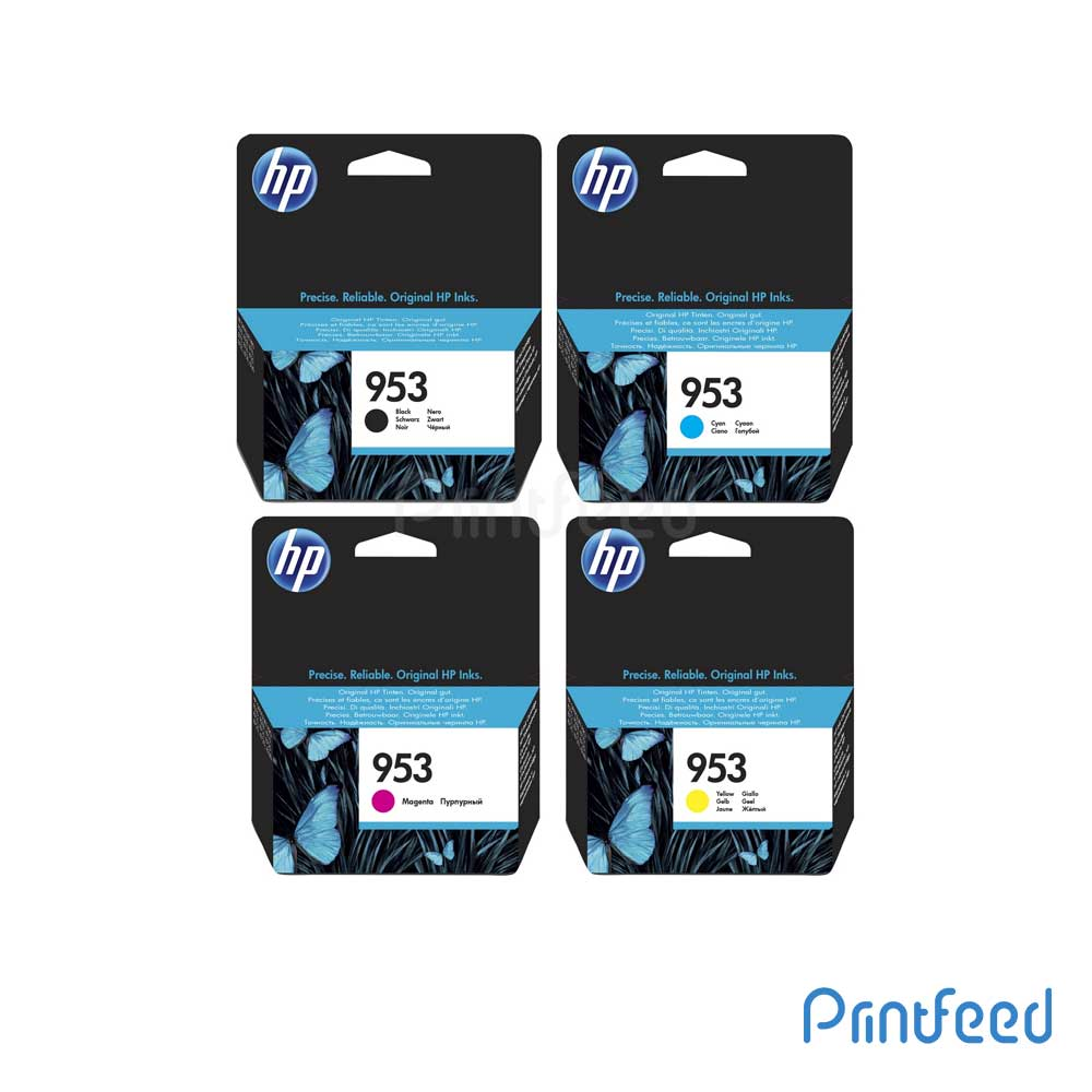 HP 953 4 Color Ink Cartridge Pack